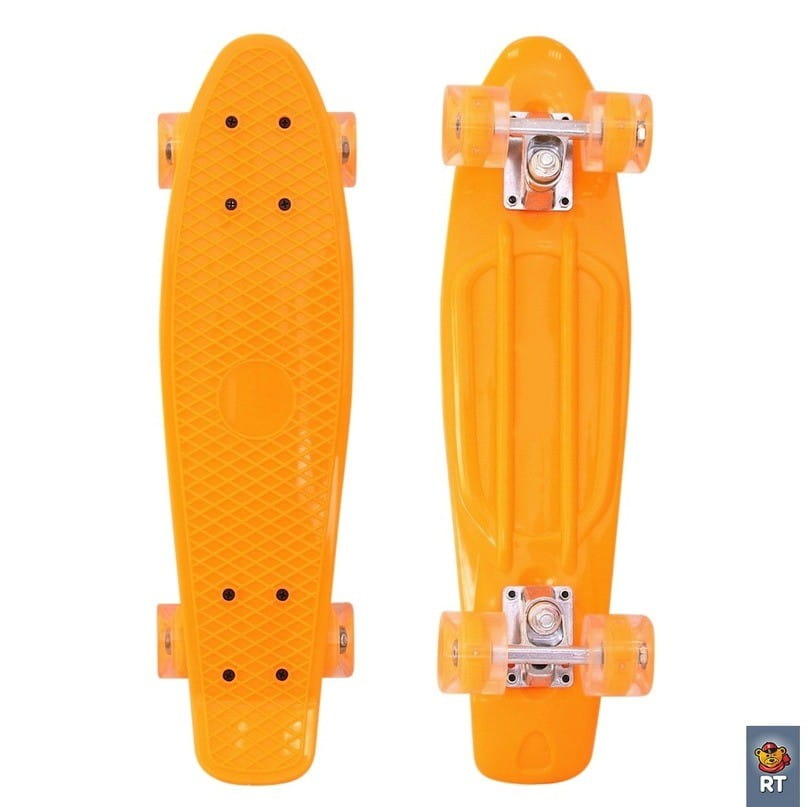Скейтборд RT Classic 22 дюйма - оранжевый