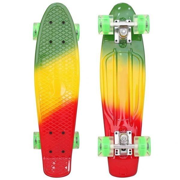 Скейтборд RT 6443 Classic 22 дюйма - мультицвет