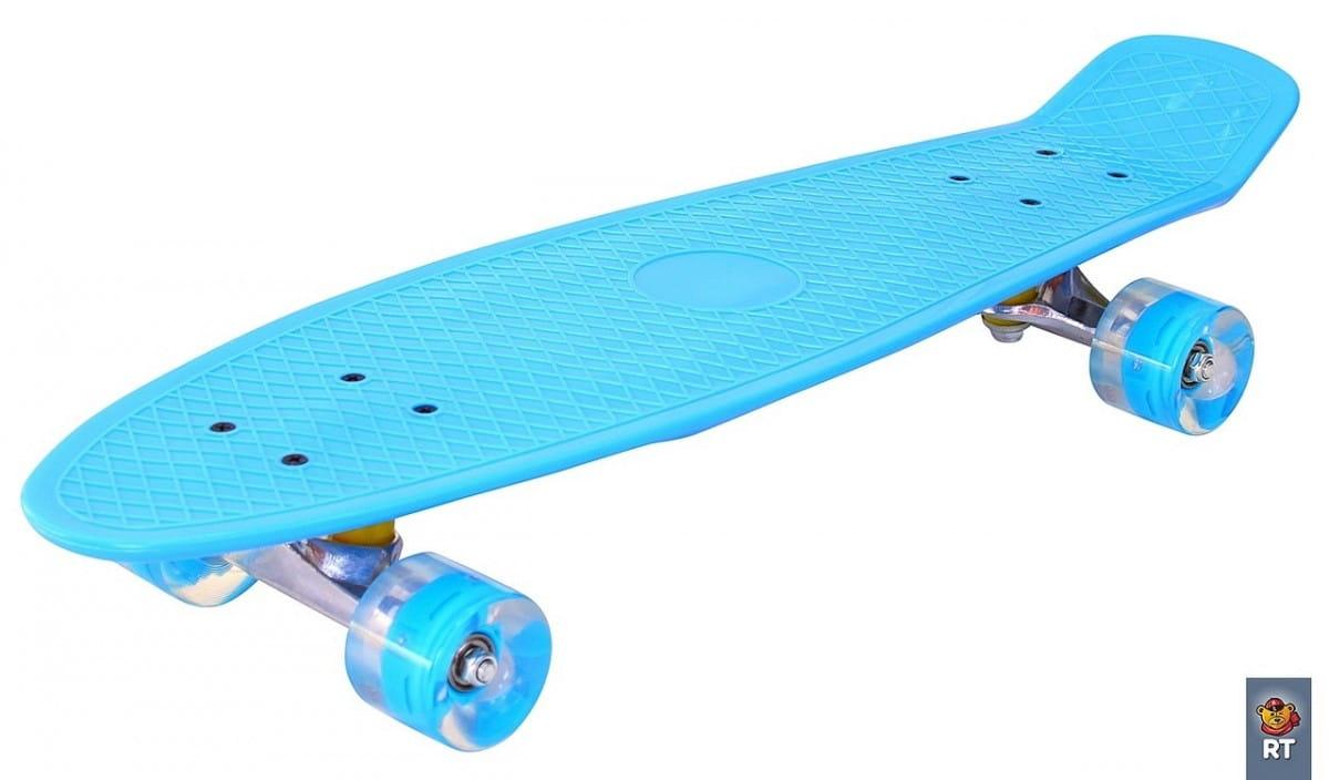 Скейтборд RT 6437 Classic 26 дюймов - голубой