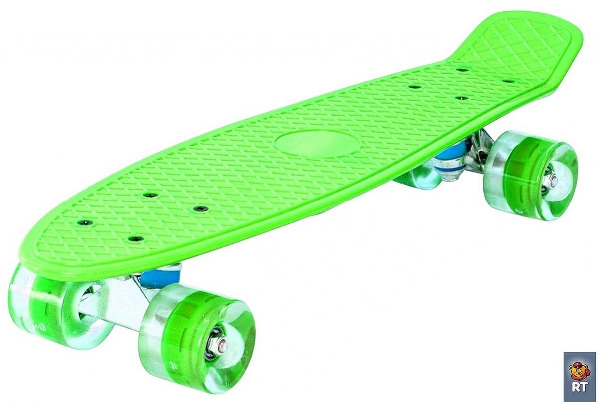 Скейтборд RT 6439 Classic 26 дюймов - зеленый