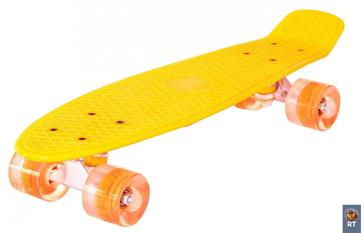 Скейтборд RT 6441 Classic 26 дюймов - оранжевый