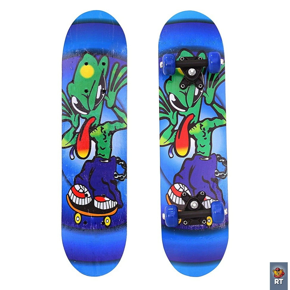 Скейтборд RT 5654 Пришельцы 23 дюйма - Длинный язык