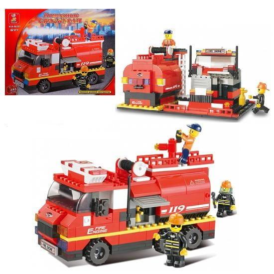 Конструктор Sluban Г28698 Пожарная большая машина - 281 деталь