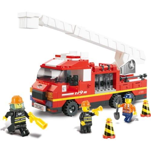 Конструктор Sluban Г28699-1 Пожарная машина - 270 деталей