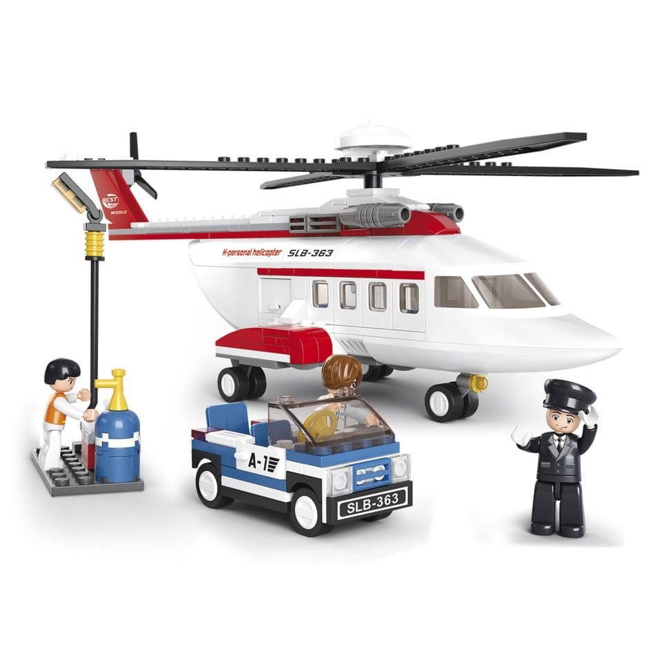 Конструктор Sluban Г51061-1 Вертолет-машинка - 259 деталей