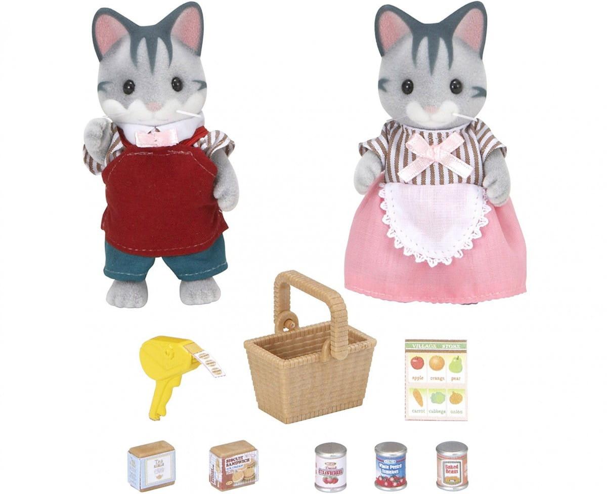 Купить Игровой набор Sylvanian Families Владельцы супермаркета в интернет магазине игрушек и детских товаров