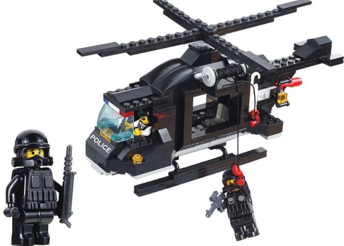Конструктор Sluban Г71977 Вертолет полиции - 219 деталей