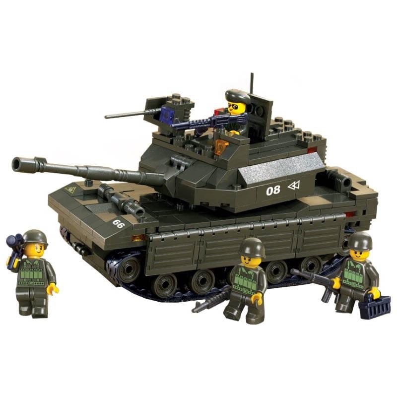 Конструктор Sluban Г71979 Танк армии - 312 деталей