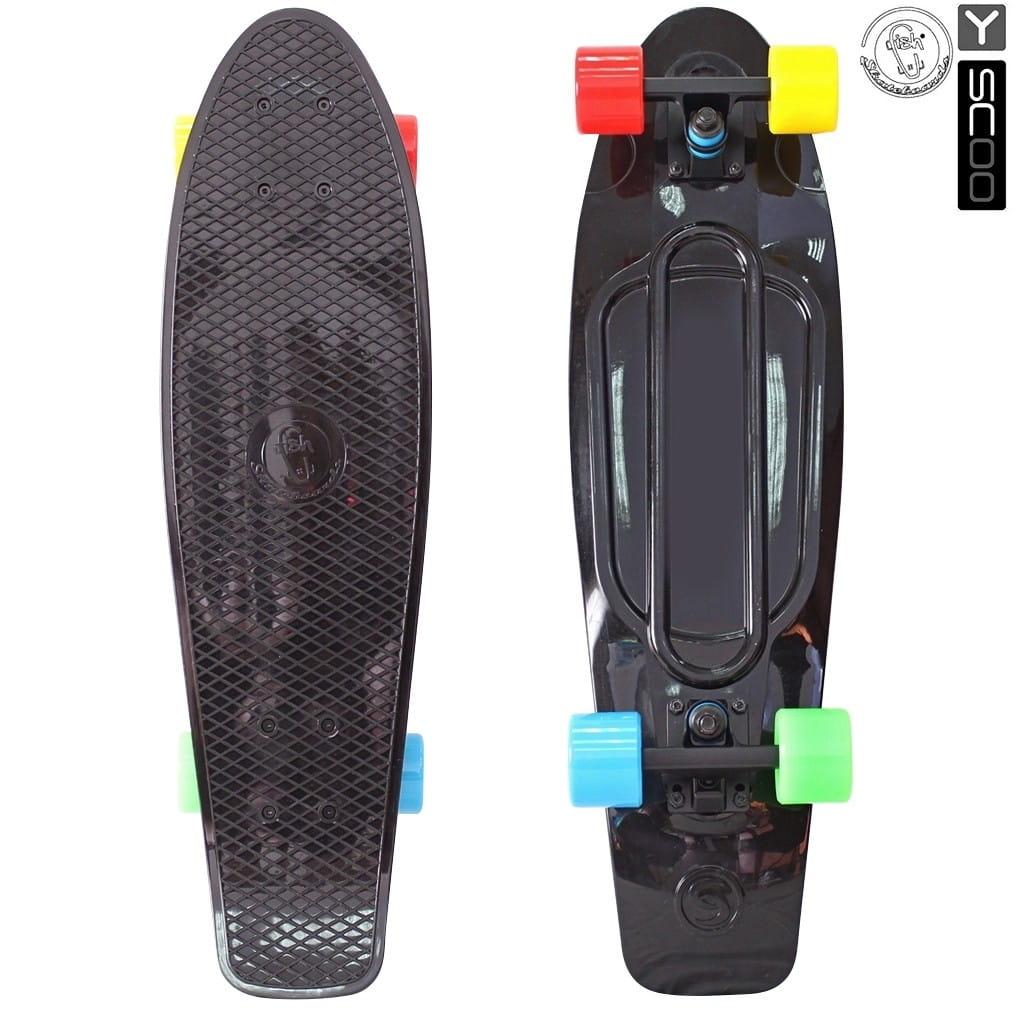 Скейтборд Y-Sсoo 5934 Fishskateboard 27 дюймов - Black-multicolor