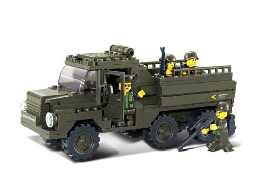 Конструктор Sluban Г79631 Армия Грузовик - 230 деталей