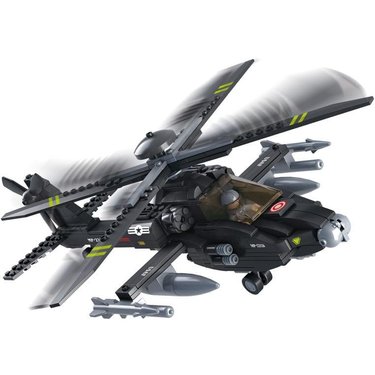 Конструктор Sluban Г79634 Армия Вертолет - 293 детали