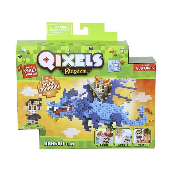 Набор для творчества Qixels 87035 Королевство - Гнев дракона