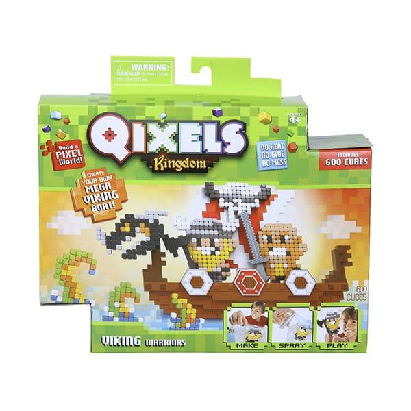 Набор для творчества QIXELS Королевство - Викинги