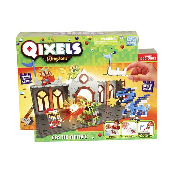 Набор для творчества Qixels 87028 Королевство Захват замка