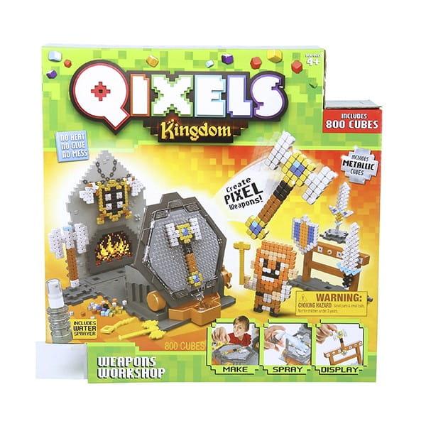 Набор для творчества QIXELS Королевство Оружейная мастерская