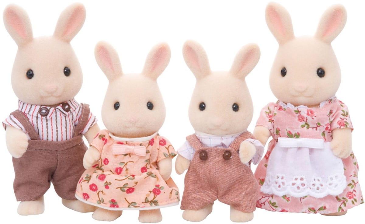 Игровой набор Sylvanian Families 3144 Семья молочных кроликов
