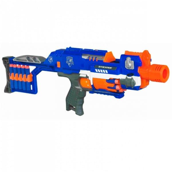 Купить Бластер Nerf Элит Стокэйд Elite Stockade (Hasbro) в интернет магазине игрушек и детских товаров