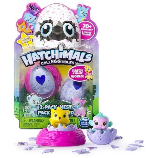 Коллекционные фигурки HATCHIMALS в яйце - 2 штуки