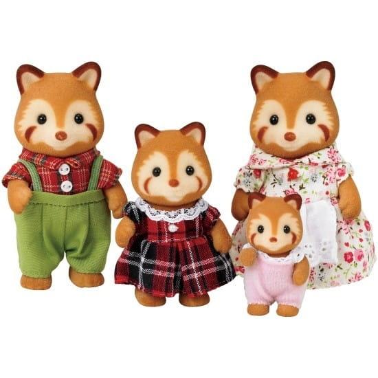 Купить Игровой набор Sylvanian Families Семья красных панд в интернет магазине игрушек и детских товаров