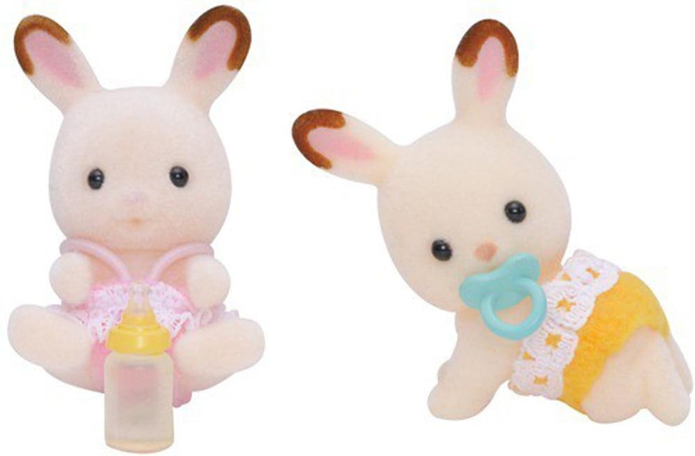 Игровой набор Sylvanian Families 3217 Шоколадные кролики-двойняшки 2