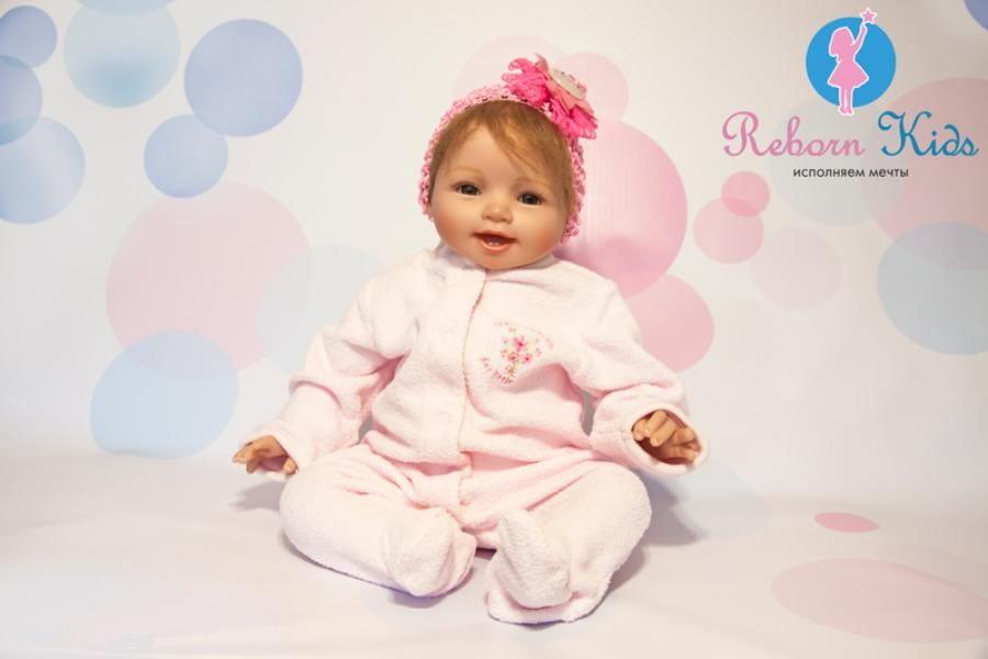 Кукла-пупс REBORN KIDS Сабрина - 55 см