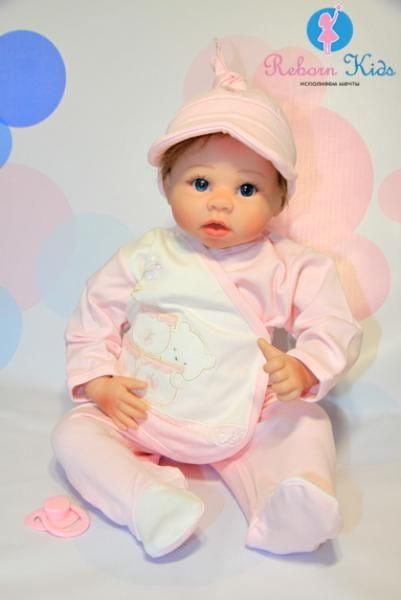 Кукла-пупс REBORN KIDS Ульяна - 55 см