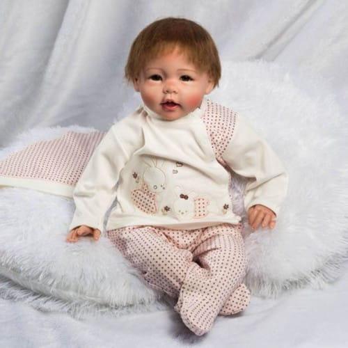 Кукла-пупс REBORN KIDS Оленька - 55 см