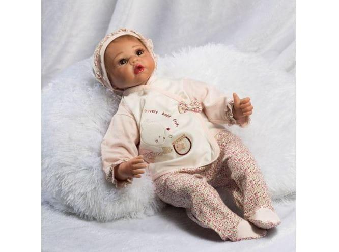 Кукла-пупс REBORN KIDS Иришка - 55 см