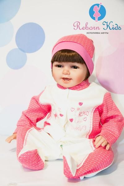 Кукла-пупс REBORN KIDS Каролина - 55 см