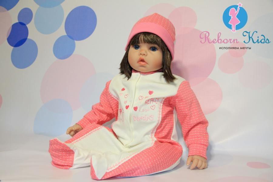 Кукла-пупс REBORN KIDS Кира - 55 см