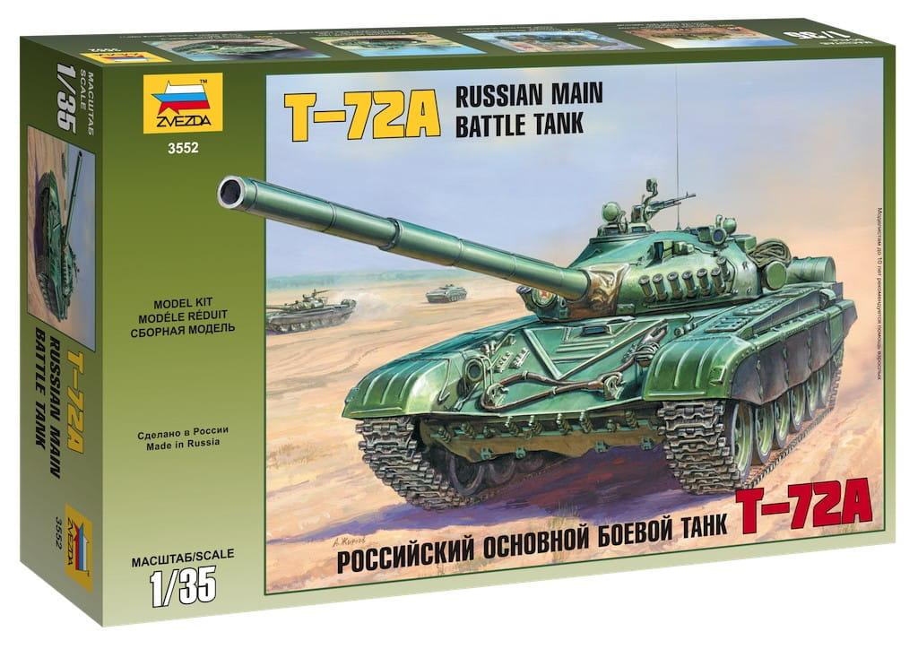 Сборная модель Звезда 3552 Танк Т-72а