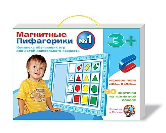 Комплект Десятое королевство 01496 Магнитные пифагорики (от 3 лет)