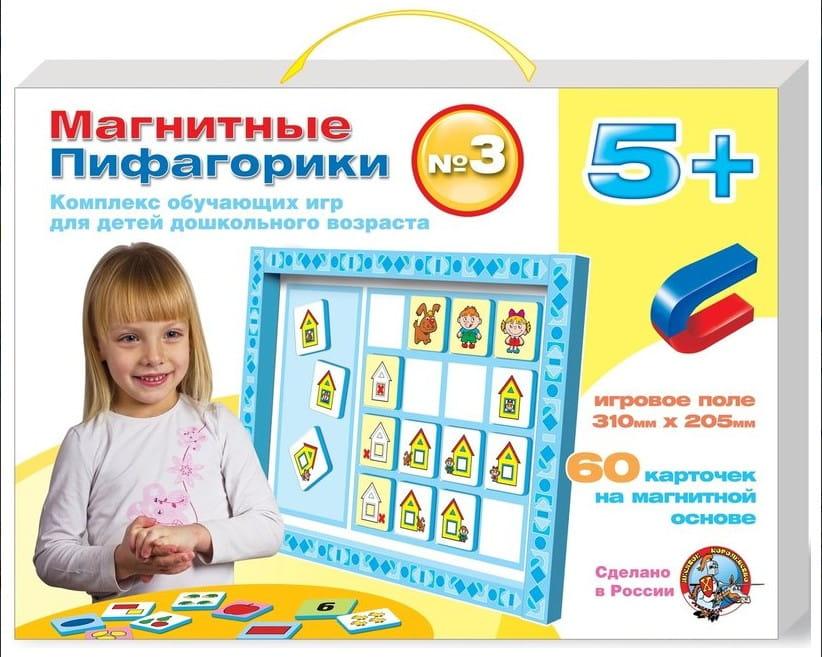 Комплект ДЕСЯТОЕ КОРОЛЕВСТВО Магнитные пифагорики (от 5 лет)