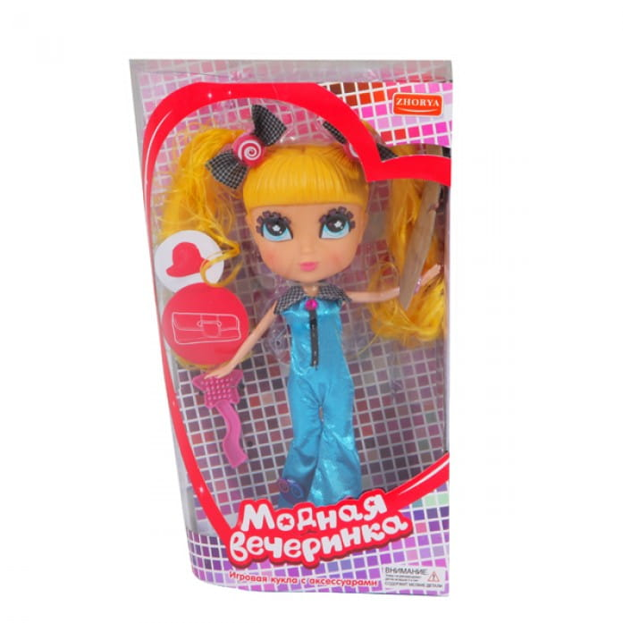 Кукла Zhorya Х75780 Модная вечеринка - Диско