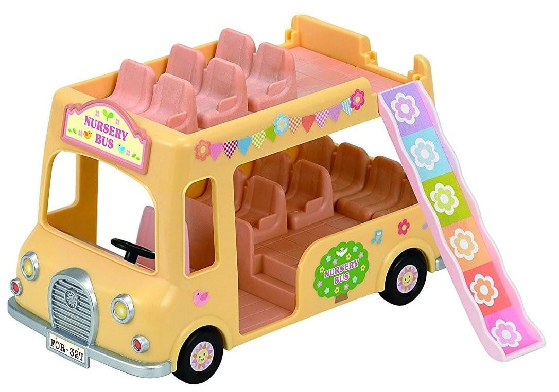 Игровой набор Sylvanian Families 3588 Двухэтажный автобус для малышей