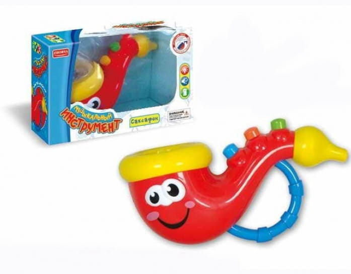 Музыкальная игрушка Zhorya Х75261 Саксофон