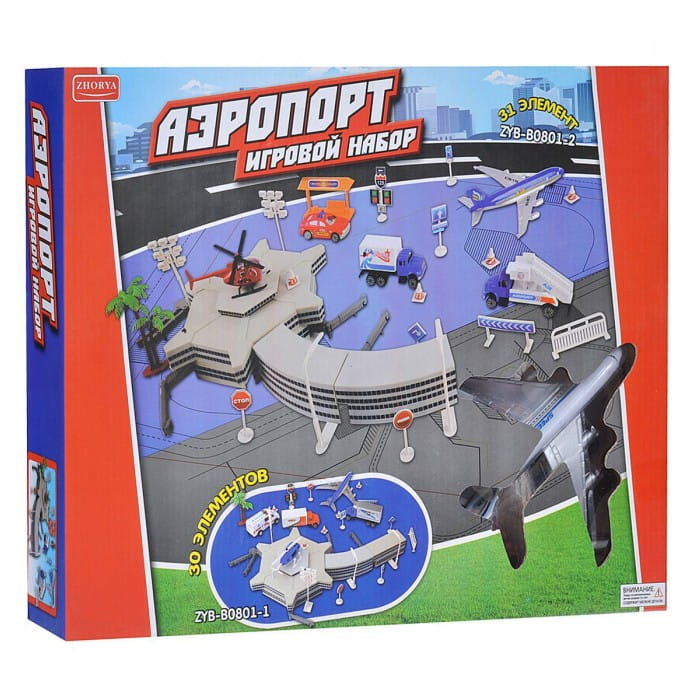 Игровой набор Zhorya Х75364 Аэропорт