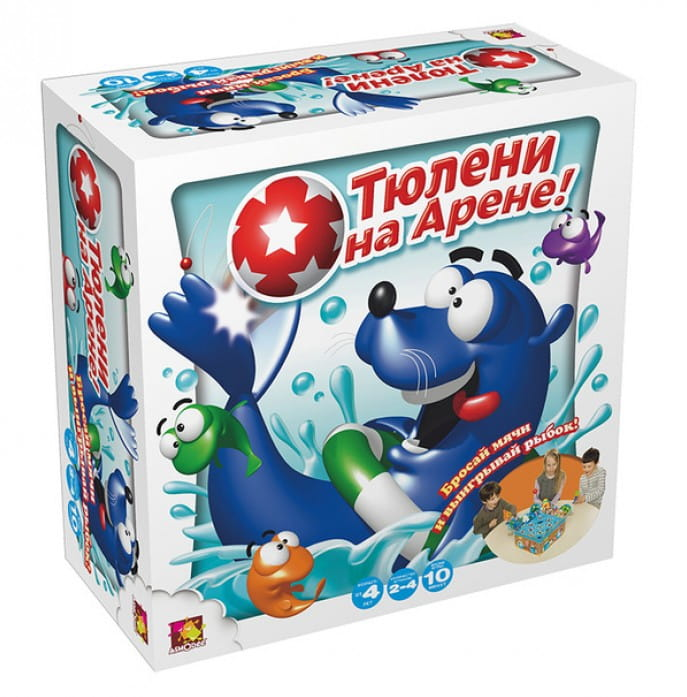 Настольная игра Asmodee JАСТ08Ru Тюлени на арене