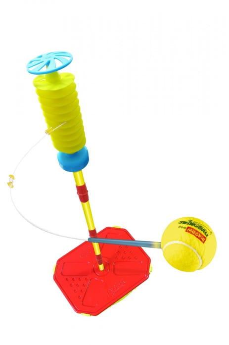 Спортивная игра Mookie 7215 Веселый теннис - желтый (с мячом на тросе)