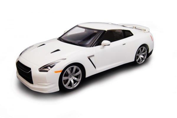Радиоуправляемая машина MJX Nissan GTR R35 1:14 белая