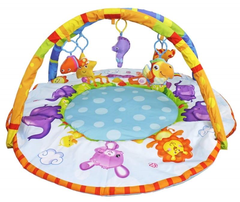 Развивающий коврик SS TOYS Bambini - Веселые зверюшки