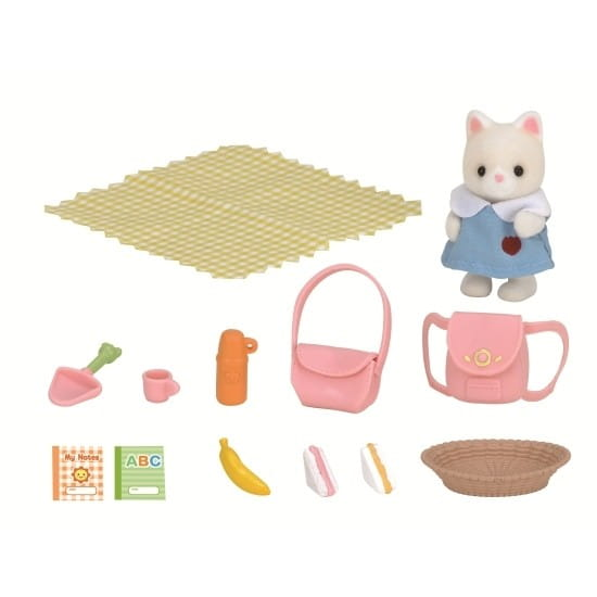 Купить Игровой набор Sylvanian Families Пикник в детском саду в интернет магазине игрушек и детских товаров