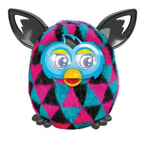 Купить Интерактивная игрушка Furby Boom Ферби Бум Треугольники (Hasbro) в интернет магазине игрушек и детских товаров