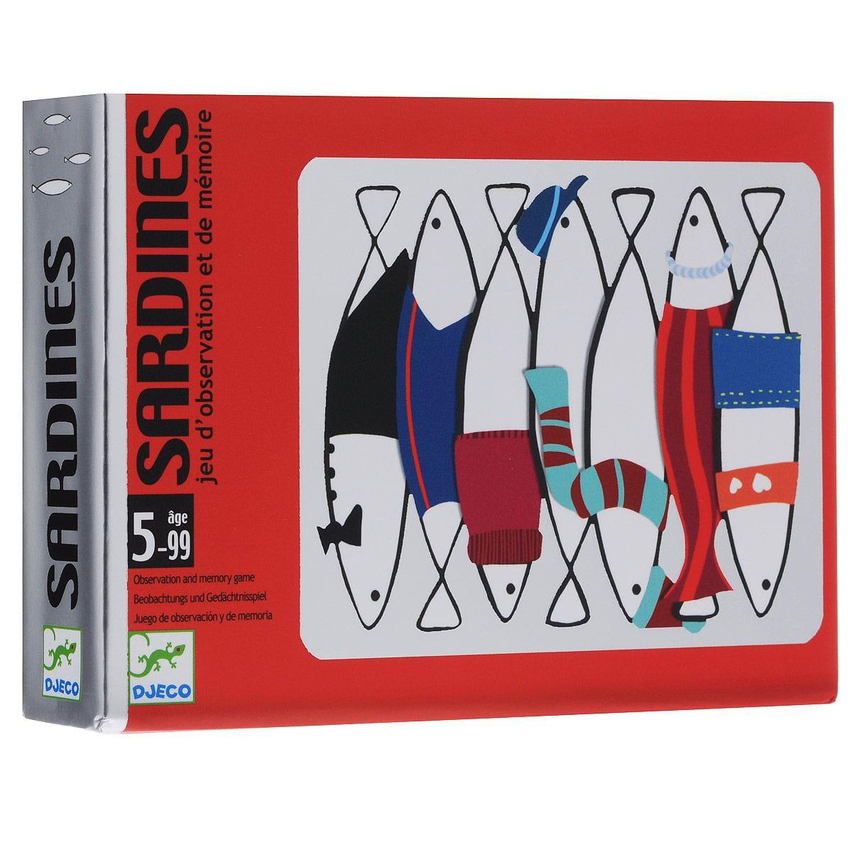 Настольная игра Djeco 05161 Сардины