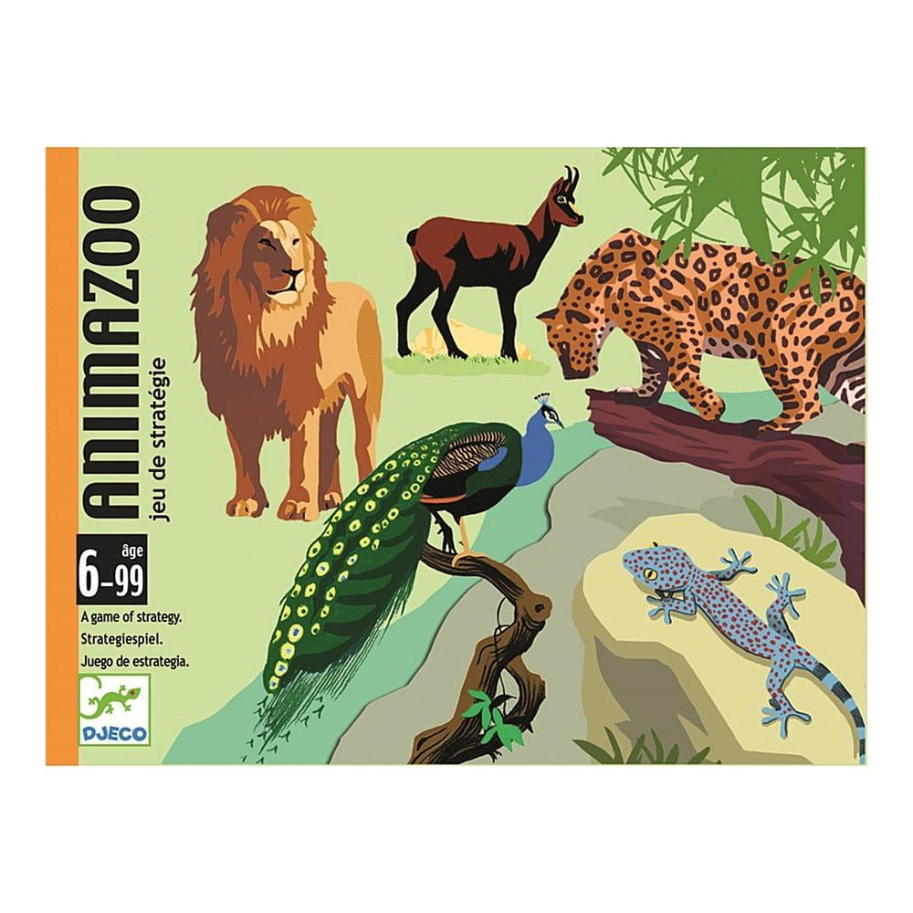 Настольная игра Djeco 05188 Зоопарк