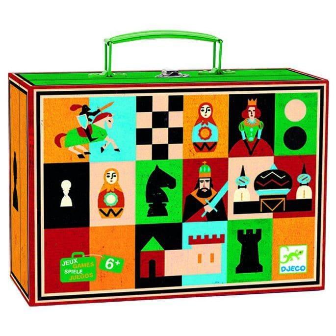 Настольная игра Djeco 05225 Шахматы и шашки