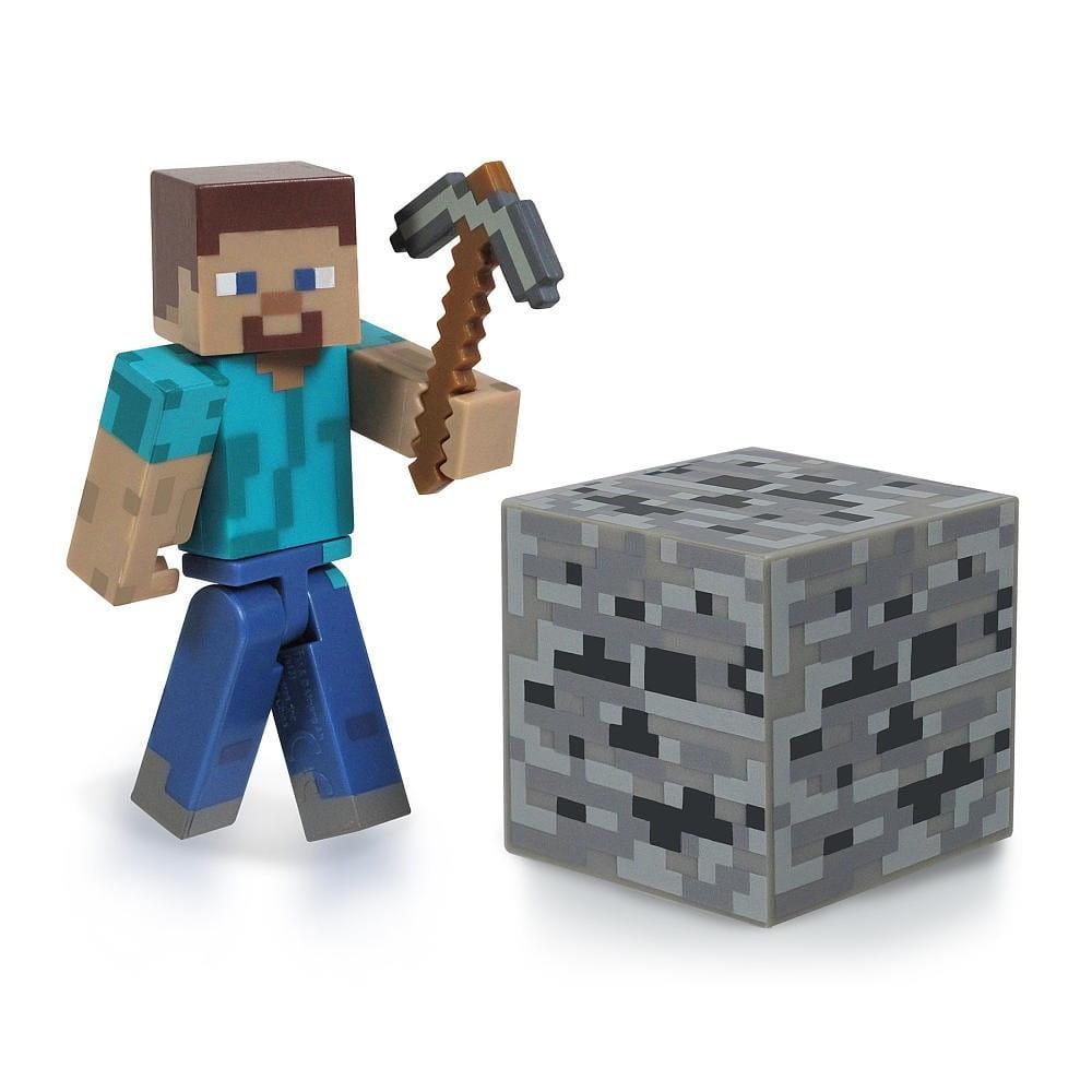 Игровой набор Minecraft 16501 Стив с киркой