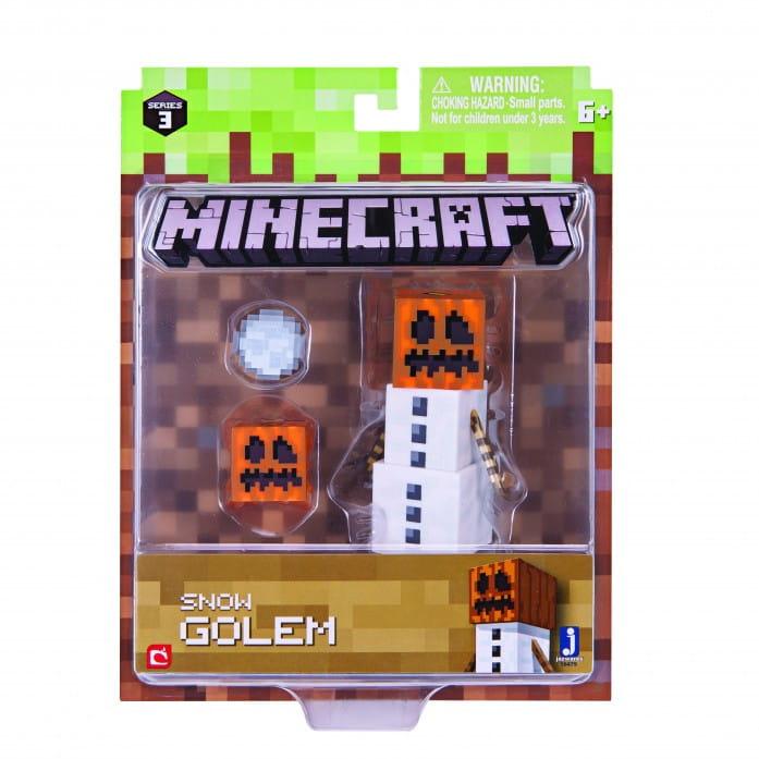 Игровой набор Minecraft Т59987 Снежный Голем