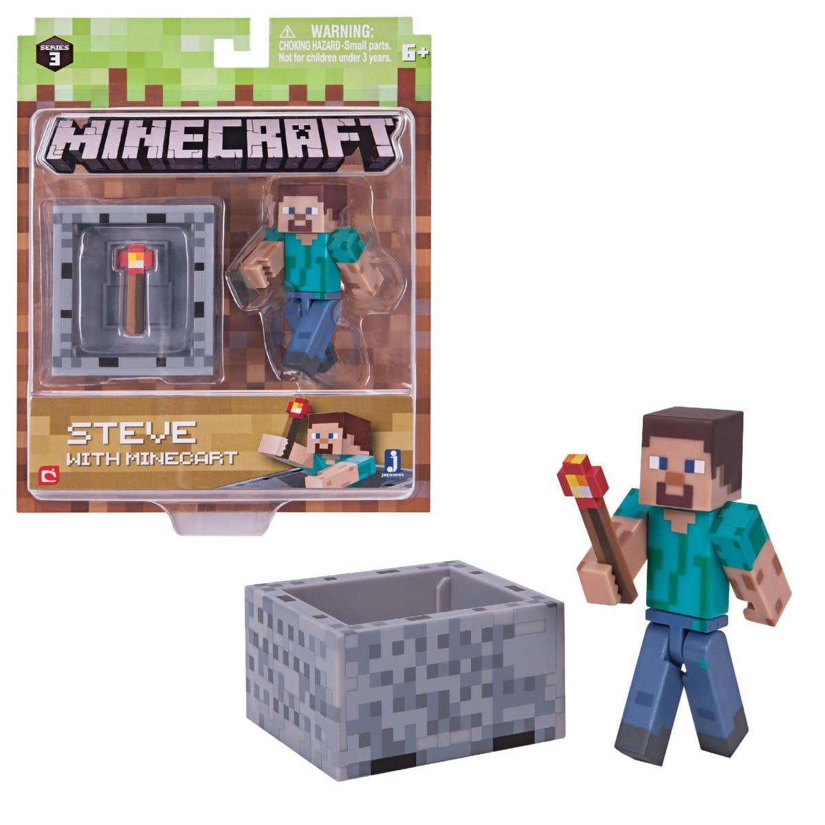 Игровой набор Minecraft Т59989 Стив с факелом
