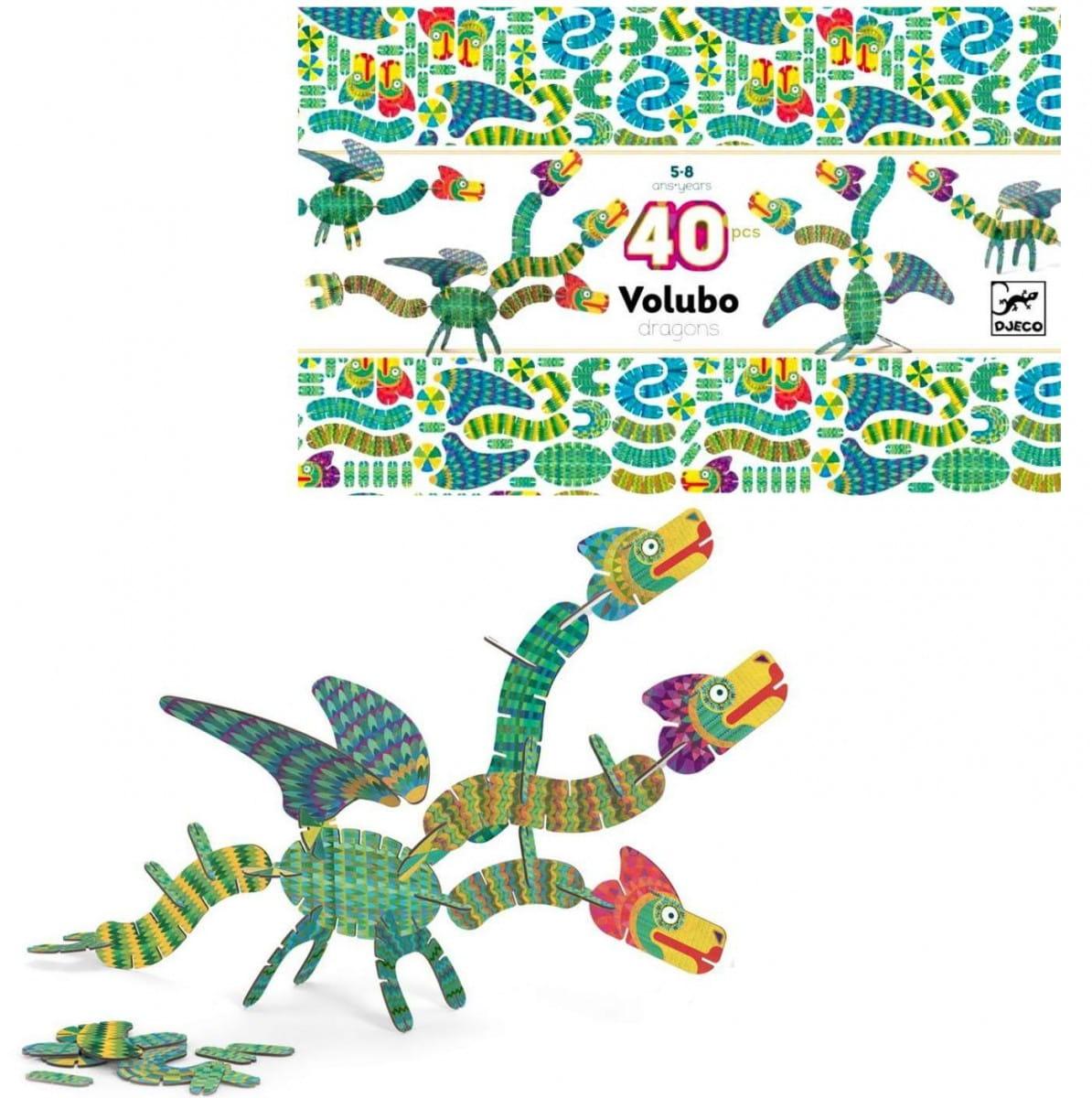 Объемный 3D-пазл DJECO Дракон - 3D-пазлы